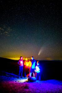 Black Canyon Comet