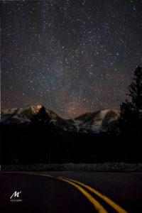 Rocky Mountain National Park Starry Sky