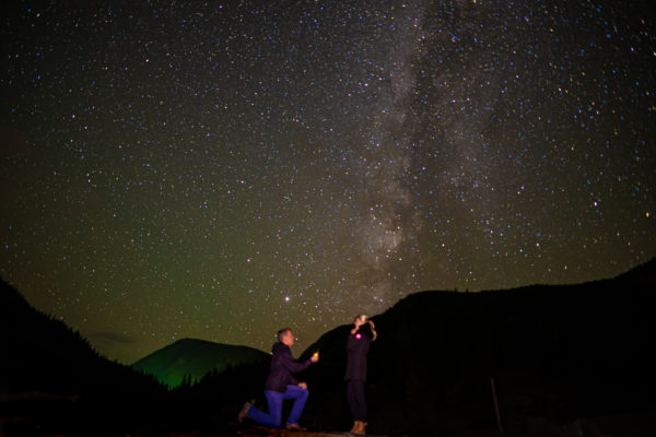 Proposal Under the Stars